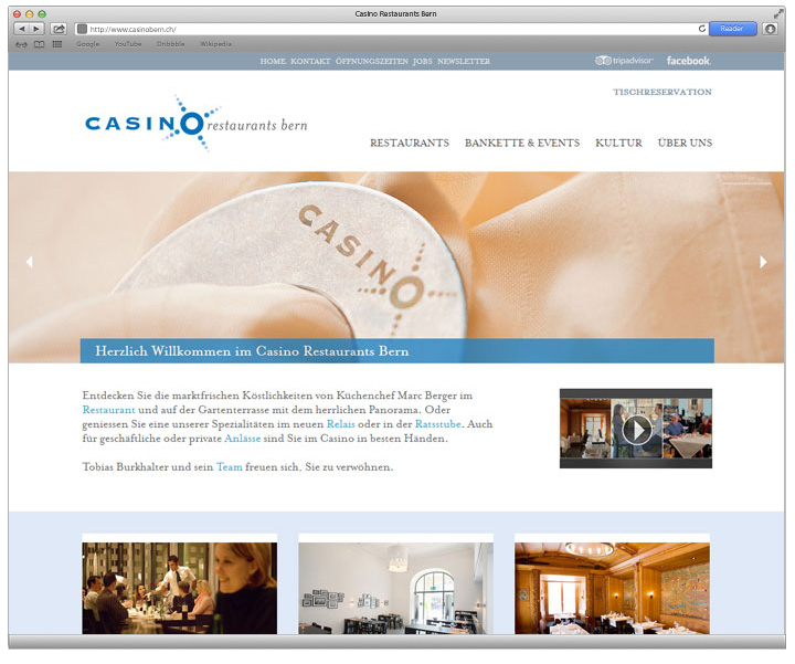 Referenz Casinobern