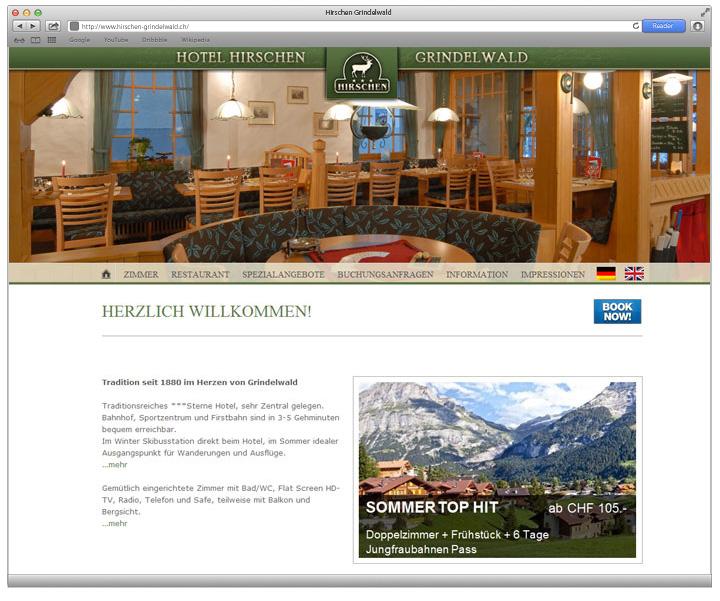 Referenz Hotel Hirschen Grindelwald