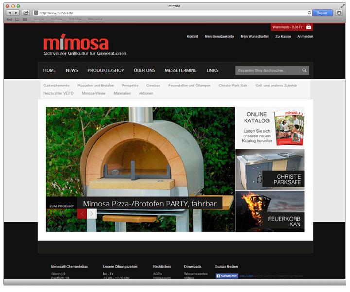 Referenzen Mimosa